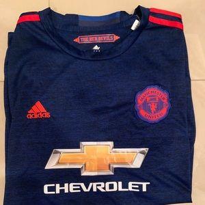 Men's 16/17 Adidas Manchester United Soccer Jersey